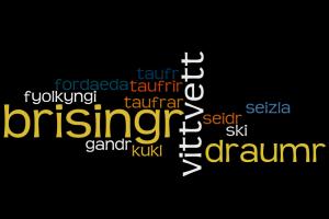altnordische Wörter